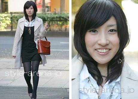 偷拍:日本街头mm生活发型和妆容(组图)-雅女频道-雅安