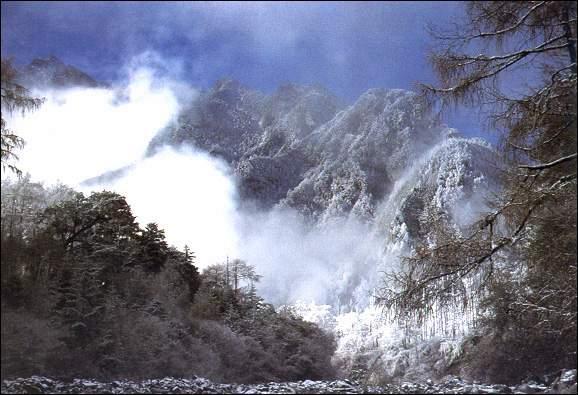 省级风景名胜区田湾河在石棉县境内