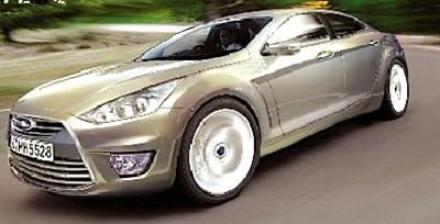 福特汽车将在2012年推出蒙迪欧四门轿跑车高清图片
