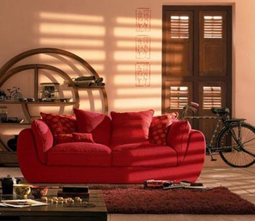 设计师:中国风格中很喜欢用红色装修