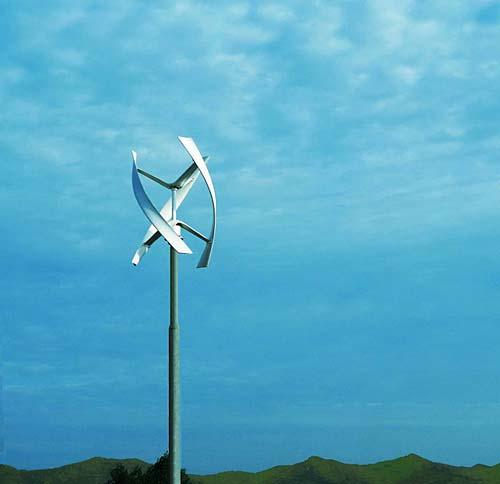 安静的风力发电机