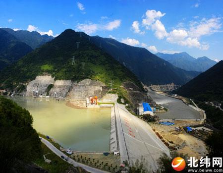 龙头石水电站;; 石棉县:水电引擎 唱响工业经济主旋律-新闻频道-雅安