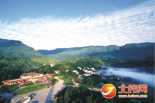雅安市雨城区国家4a级风景名胜区碧峰峡景区