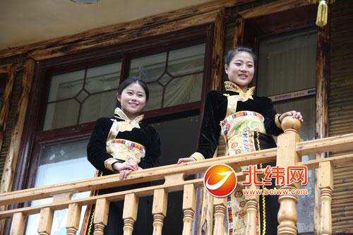 宝兴县穆坪镇雪山村发展民俗乡村旅游