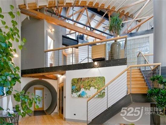 房屋内转角楼梯结构设计图