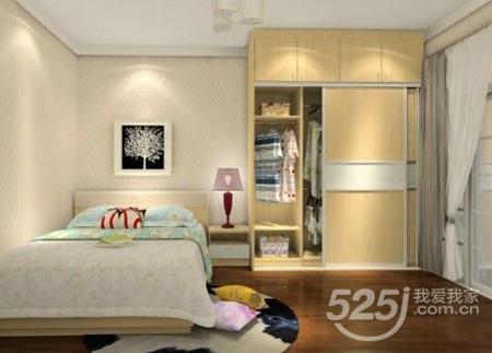 小户型卧室衣柜设计方案及设计误区