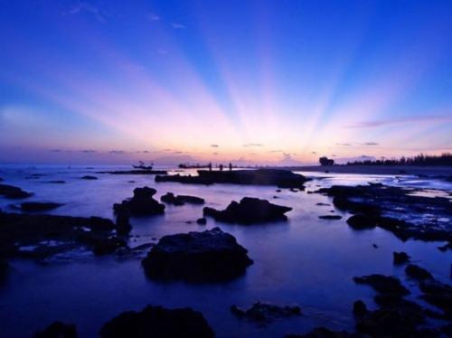 北海围洲岛风光 充满梦幻的岛屿