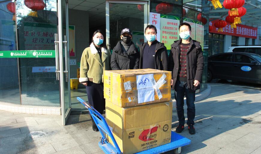 雅安一愛心人士向市(shi)醫院捐(juan)贈800個(ge)N95口(kou)罩